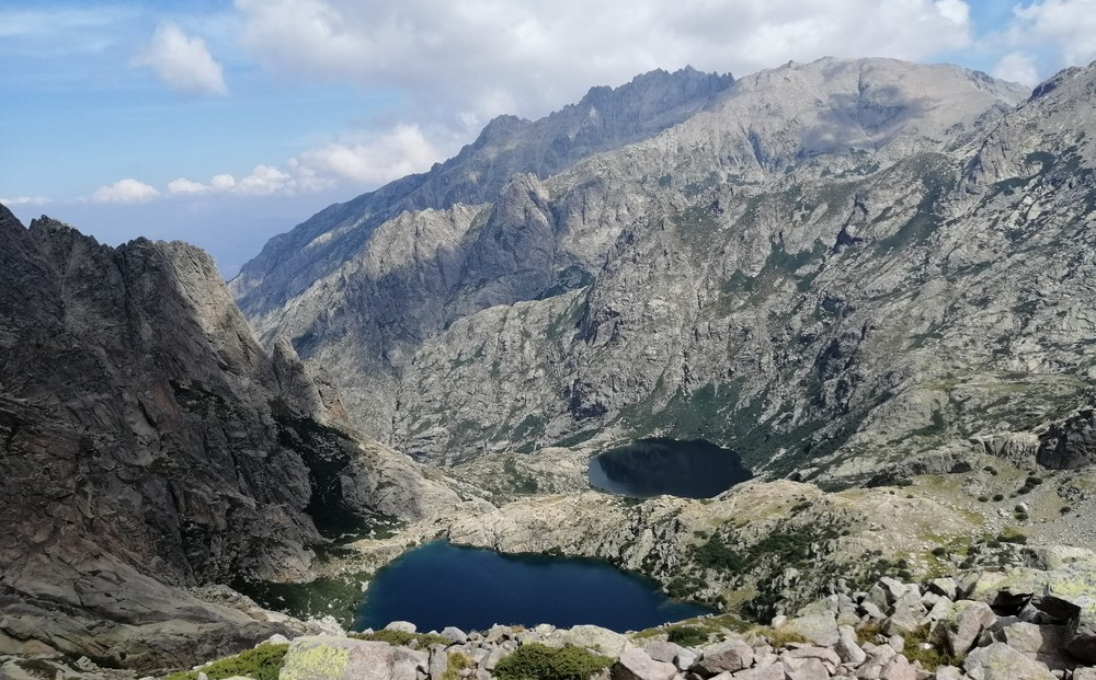 The lakes of Melo and Capitello
