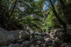 Canyoning walk