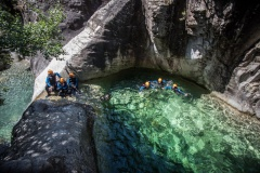 Canyoning Bocognano